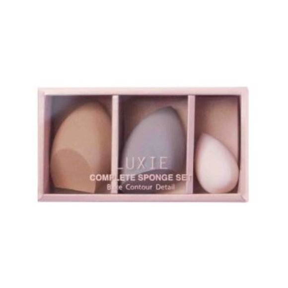 Luxie Other - LUXIE - COMPLETE 3 SPONGE SET *NEW*
